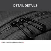 "Men's  9.7"" iPad Waterproof USB Charging Casual Messenger Bag Crossbody Bags"