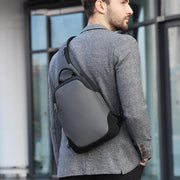 Men's Men's USB Charging Headphone Multifunction Casual Shoulder Messenger Bag