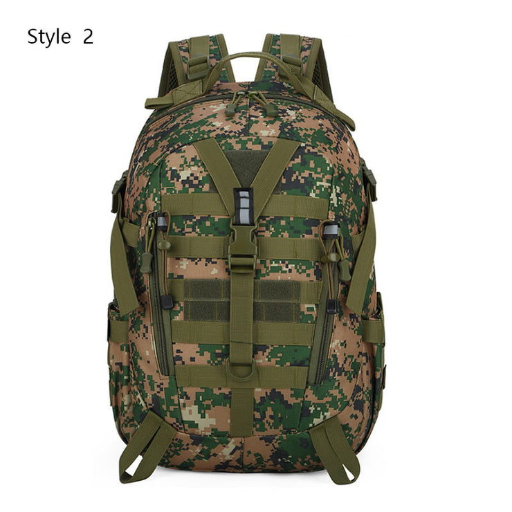 Men's Rucksack Hiking Outdoor  40L Camping Backpack Military Bag