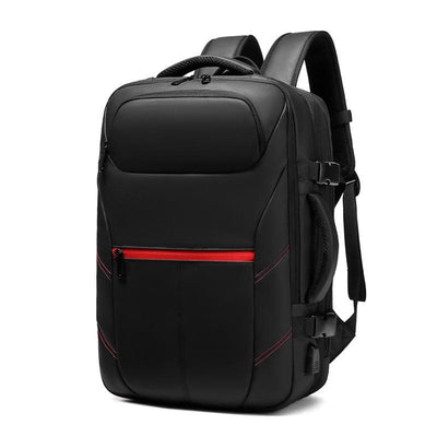 Men's PVC Waterproof USB Charging Male Laptop Casual Travel Bag