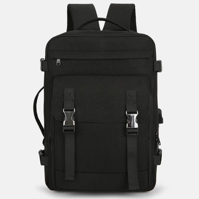 Men's Lightweight Waterproof Travel Backpack With Charging Port