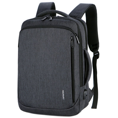 Men's Multi-function Dual-use Leisure Business Travel Computer Backpack