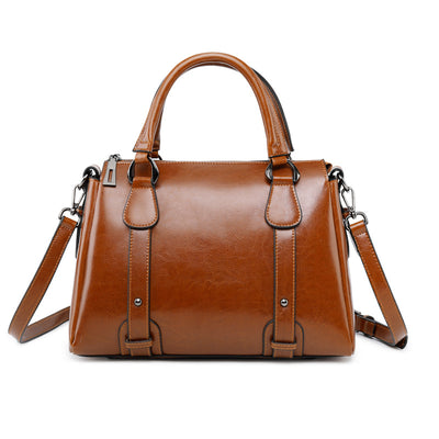 Women's Fashion Leather Shoulder Handbag