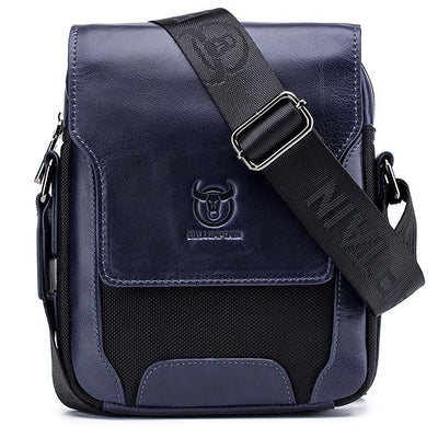 Men's Genuine Leather Business Crossbody Bag