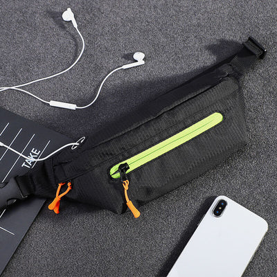 Men's Waterproof Sport Belt Bag Crossbody Bag