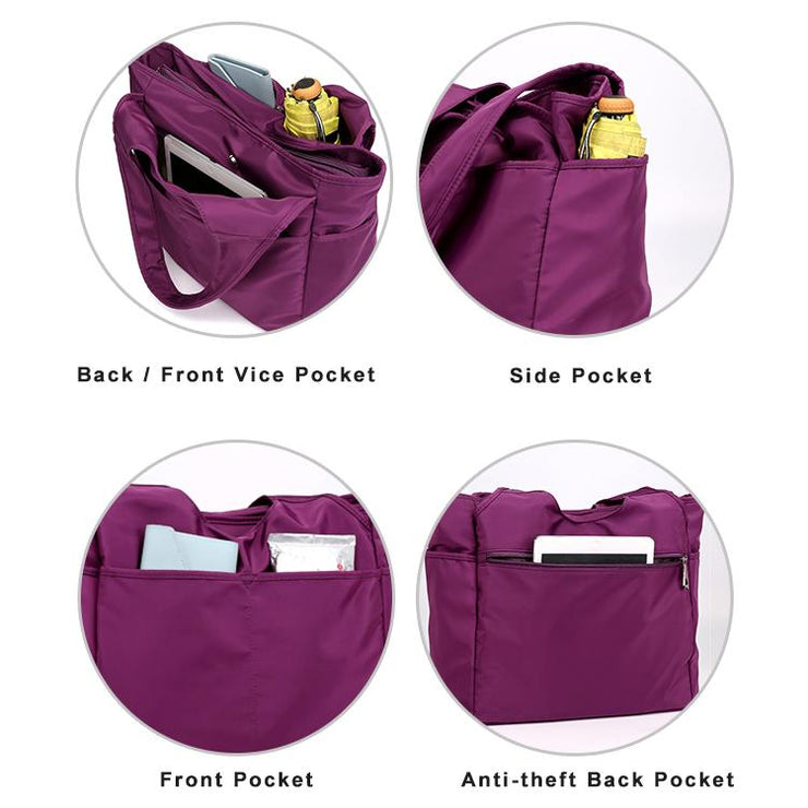 Waterproof Multi-layer Shoulder Bag Handbag