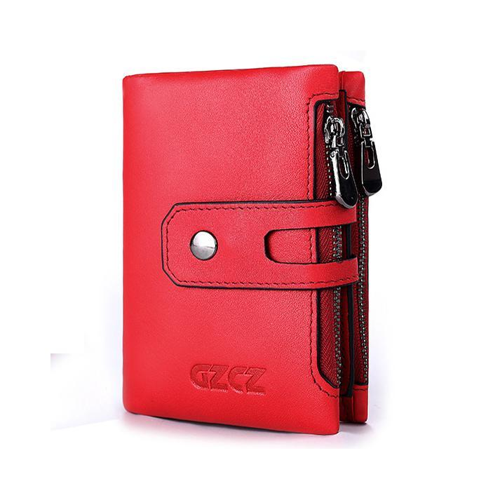 Soft Genuine Leather Large Capacity Wallet