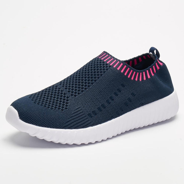 Women's Plus Size Breathable Mesh Sports Soft Athletic Shoes