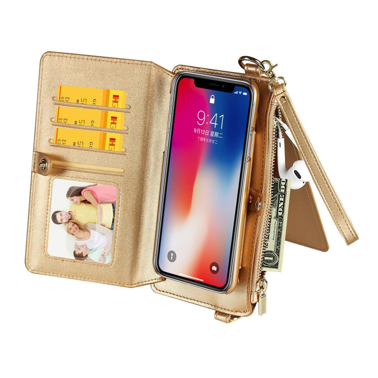 Women's Case with Kickstand And Flip Cover Wallet