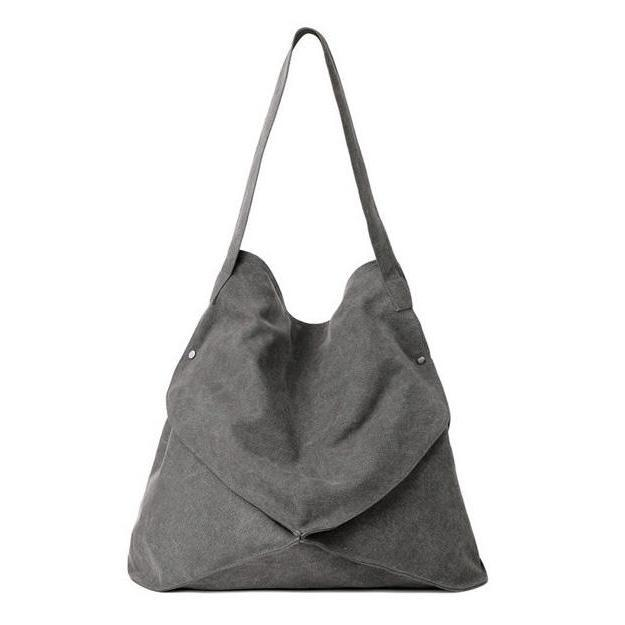 Women Large Capacity Casual Canvas Shoulder Bag