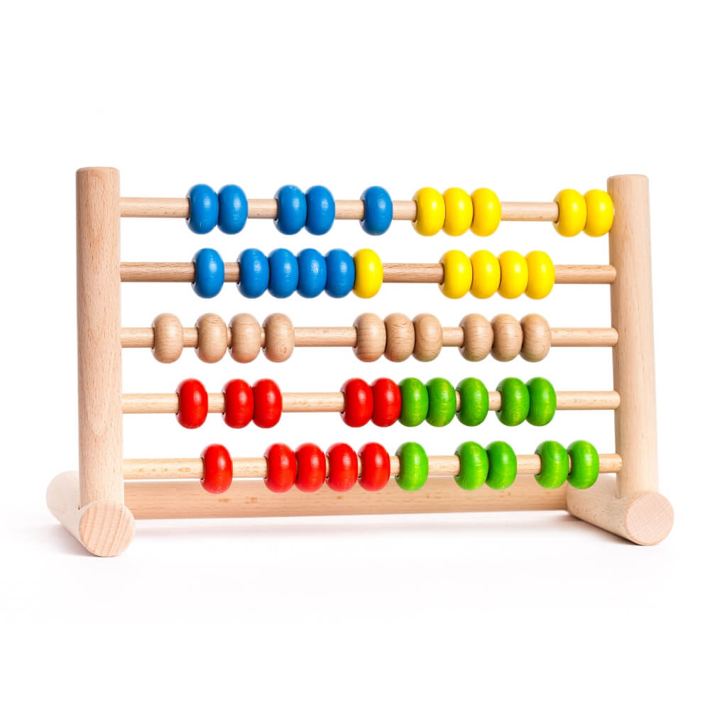 Bajo Abacus 50 with scattered beads