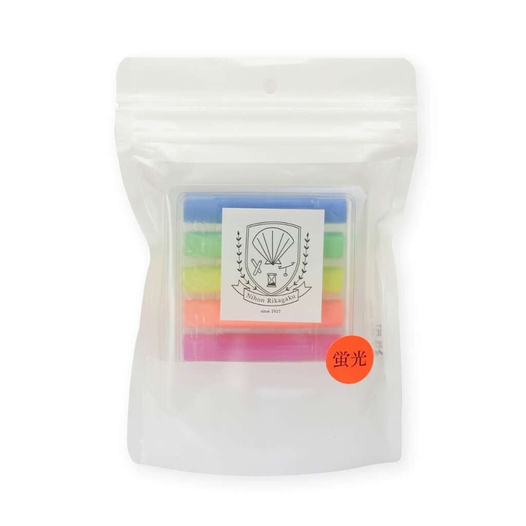 Kitpas Dustless Chalk Neon - Pack of 6 in pack