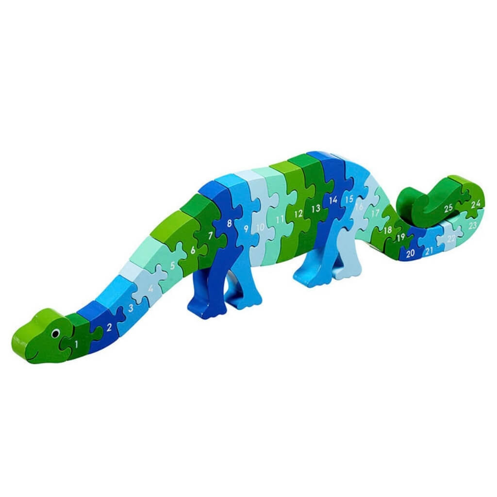 Lanka Kade Dizzie the Dinosaur 1 to 25 Jigsaw Puzzle