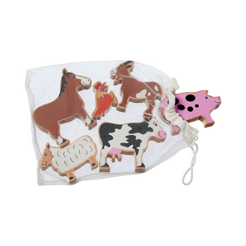 Lanka Kade Farm Animal Figures - Bag of 6