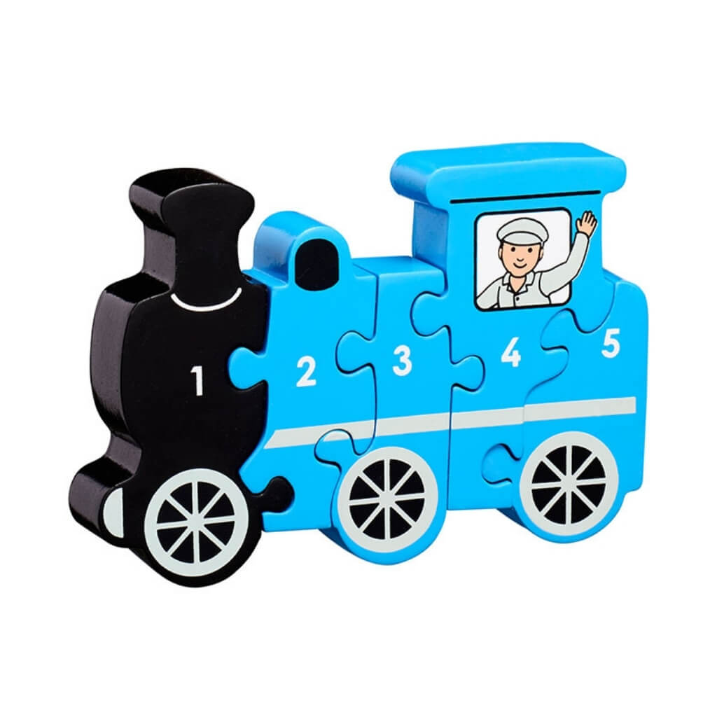 Lanka Kade Train 1 to 5 Jigsaw Puzzle