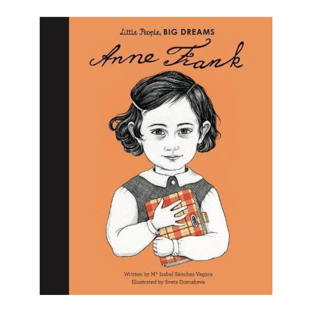 Little People, BIG DREAMS: Anne Frank book cover