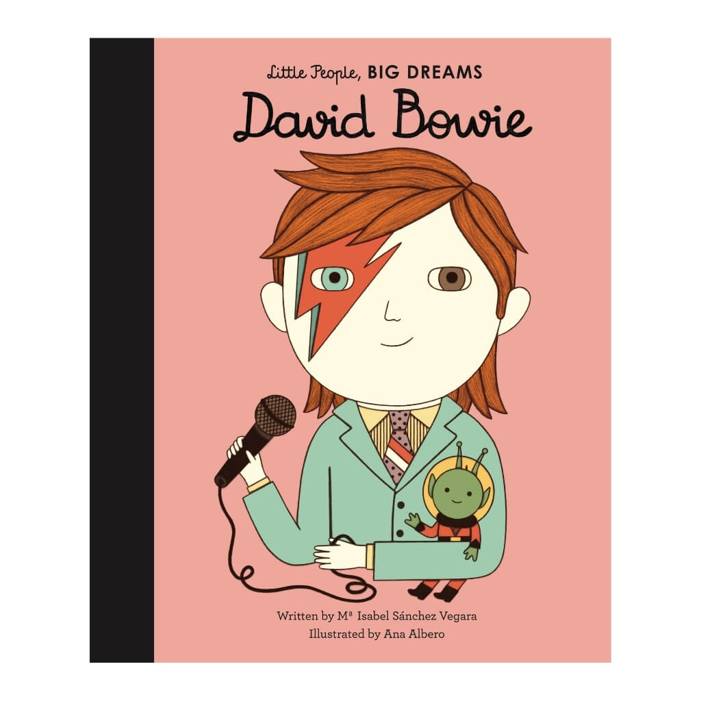 Little People, BIG DREAMS: David Bowie book cover