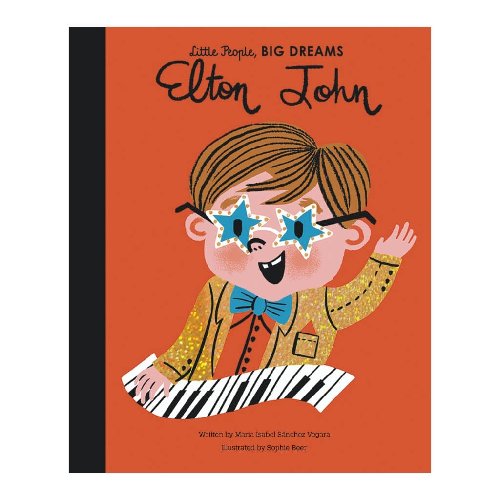 Little People, BIG DREAMS: Elton John book cover