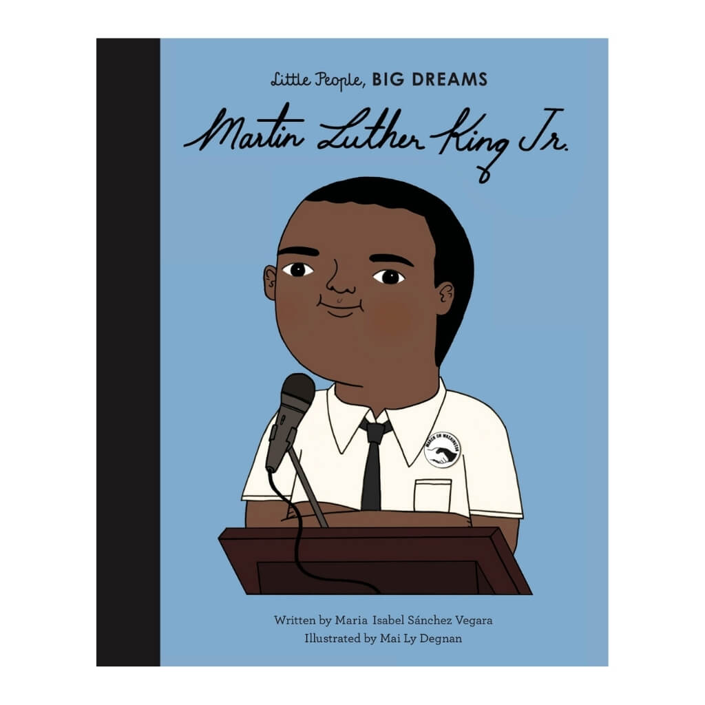 Little People, BIG DREAMS: Martin Luther King Jr book cover