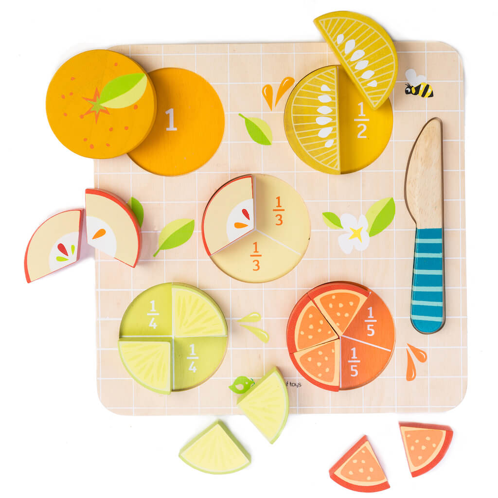 Tender Leaf Toys Citrus Fractions pieces