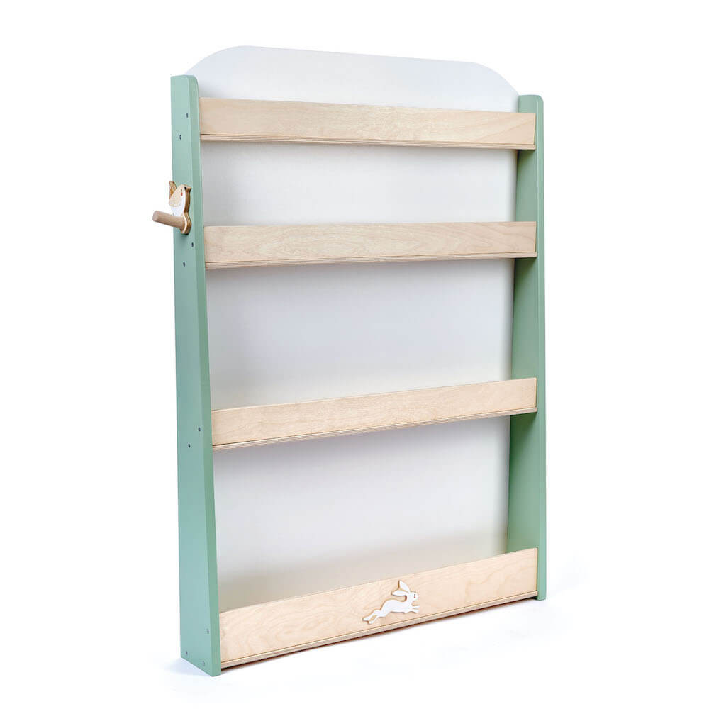 Tender Leaf Toys Forest Bookcase empty with no books inside