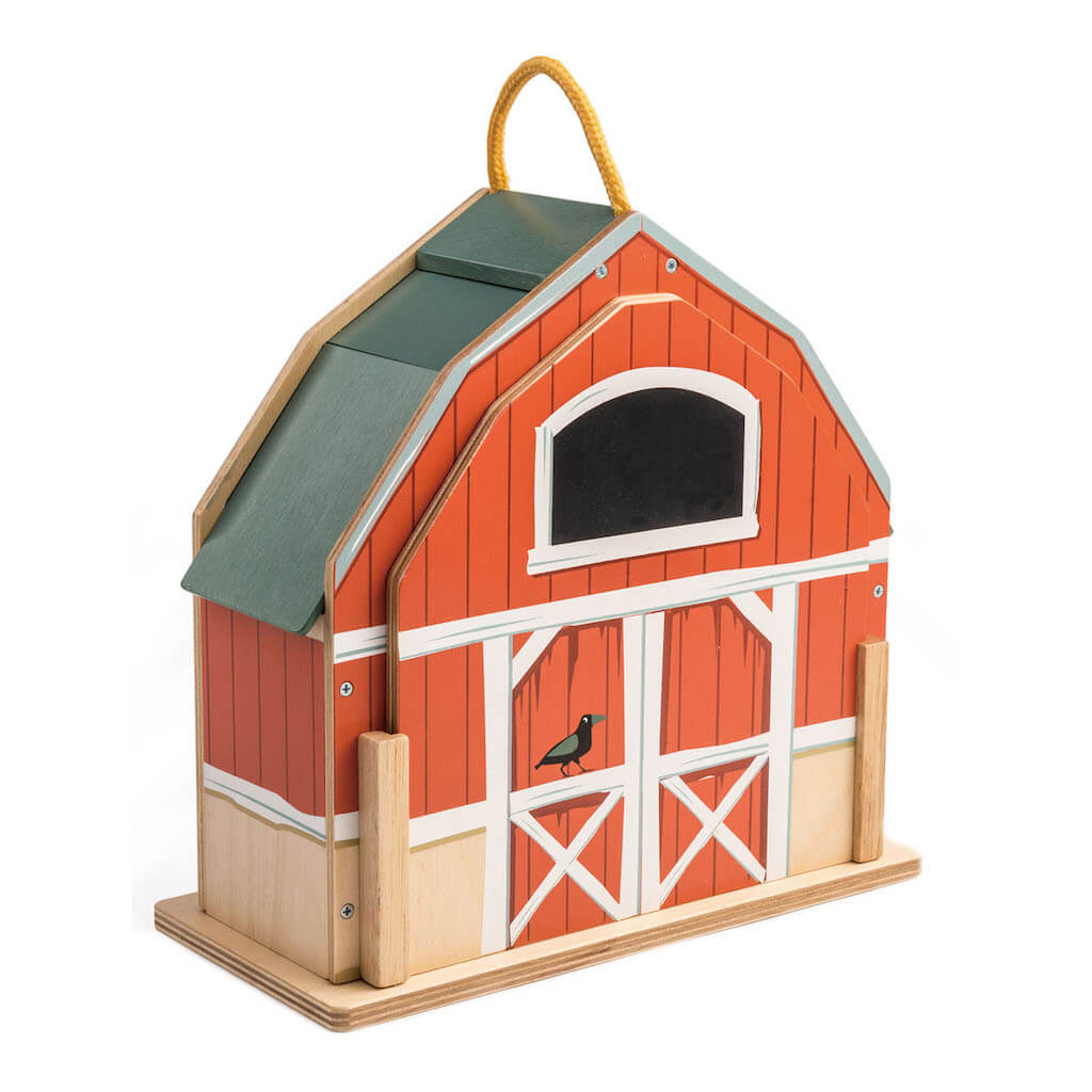 Front of the Tender Leaf Toys Little Barn Set