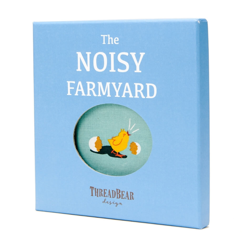 ThreadBear Design The Noisy Farmyard Rag Book