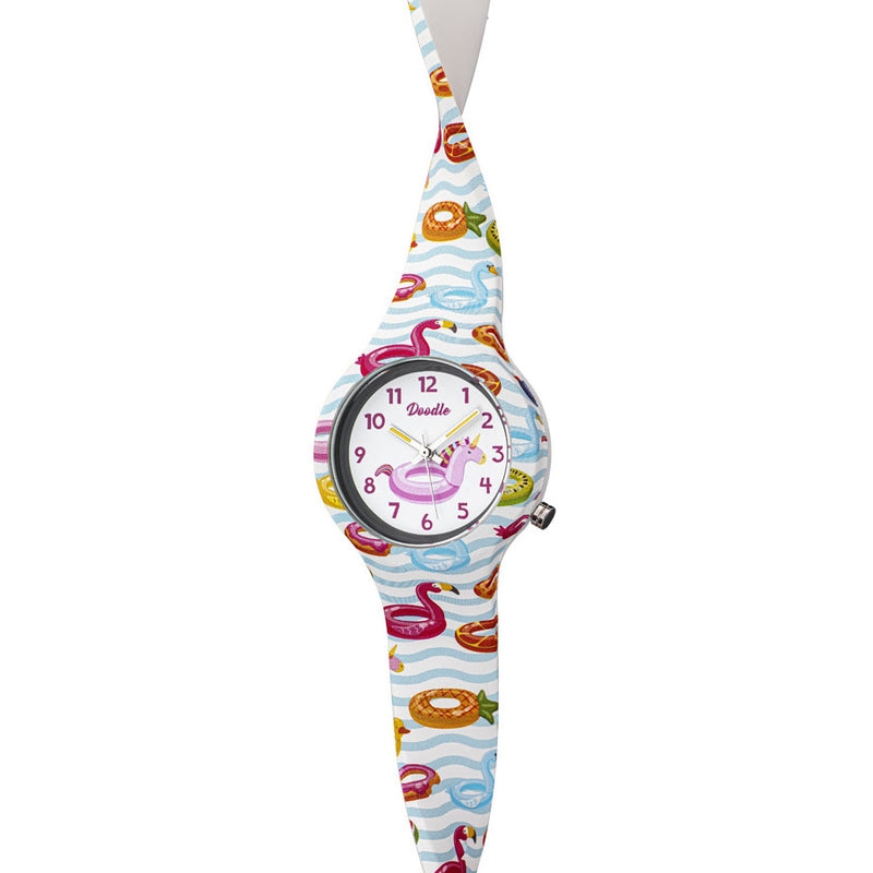 Kinderuhr Doodle Pool Kids - DO32004