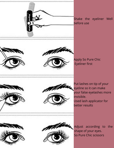 EYELASH APPLICATION TIPS
