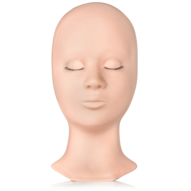 MANNEQUIN HEAD /EYELIDS REUSABLE