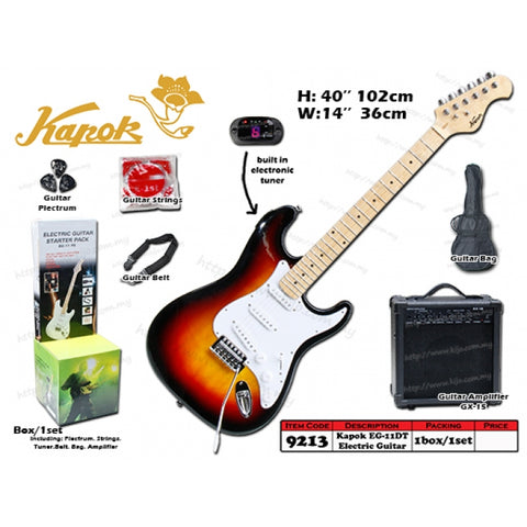 Kapok Electric Guitar Starter Kit