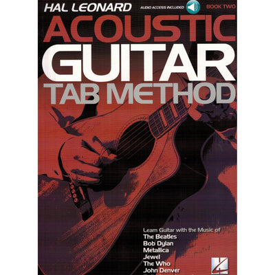 Acoustic Guitar Tab Method Book Two