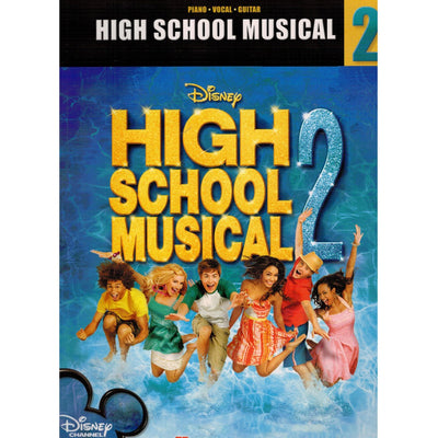 High School Musical 2, Piano/Vocal/Guitar Movie Soundtrack Songbook