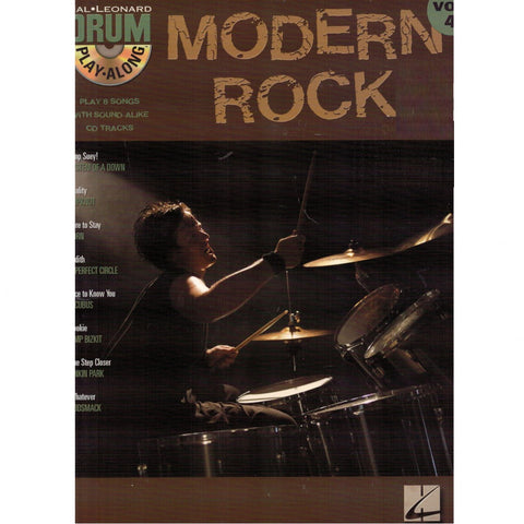 Modern Rock: Drum Play-Along Vol. 4