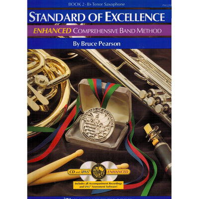 Standard of Excellence (SOE) ENHANCED Book 2 – Tenor Saxophone