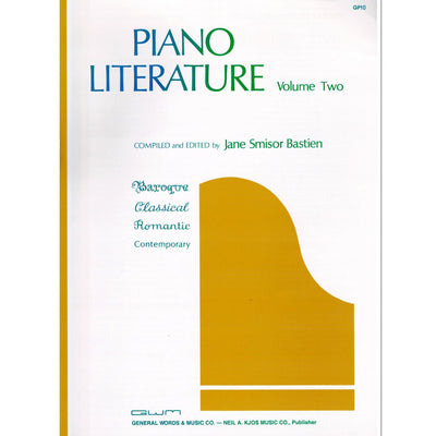 Piano Literature Volume Two