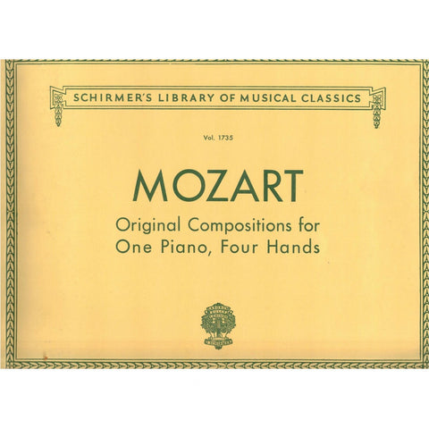 Original Compositions for One Piano, Four Hands by Mozart