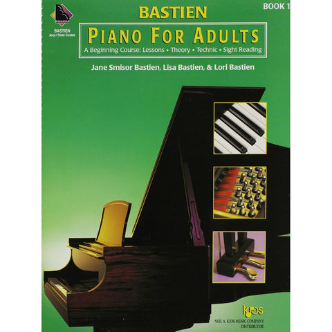 Bastien Piano for Adults Book 1 (Book Only)