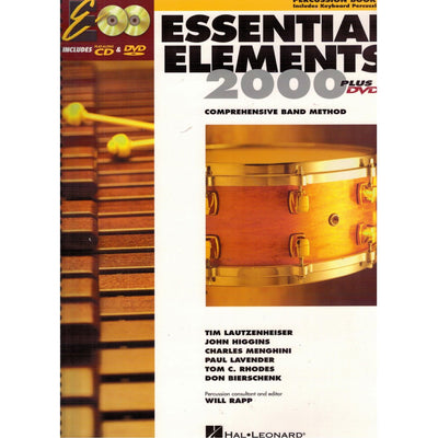 Essential Elements Percussion Book 1 (includes Keyboard Percussion)