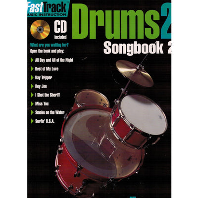 FASTTRACK DRUMS SONGBOOK 2 – LEVEL 2