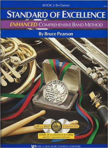 Standard of Excellence (SOE) ENHANCED Book 2 – Clarinet