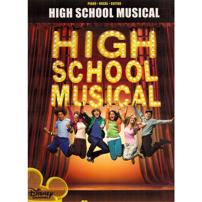 High School Musical, Piano/Vocal/Guitar Movie Soundtrack Songbook