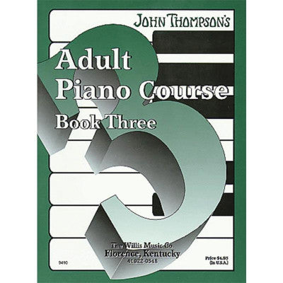 John Thompson's Adult Piano Course Book Three