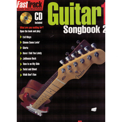 FASTTRACK GUITAR SONGBOOK 2 – LEVEL 1