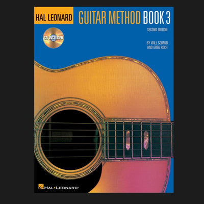 HAL LEONARD GUITAR METHOD - BOOK 3 CD PACK