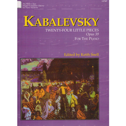 Kabalevsky Twenty-Four Little Pieces Opus 39 for the Piano