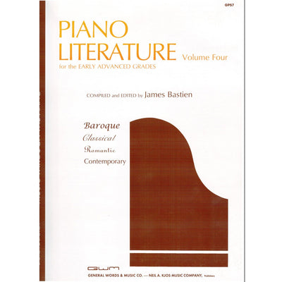 Piano Literature Volume Four