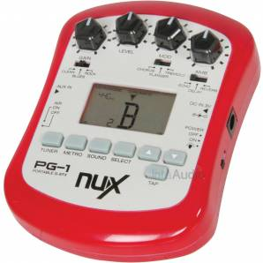 NUX PG-1 portable guitar effects