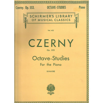 Octave-Studies for the Piano, Op. 553 by Czerny