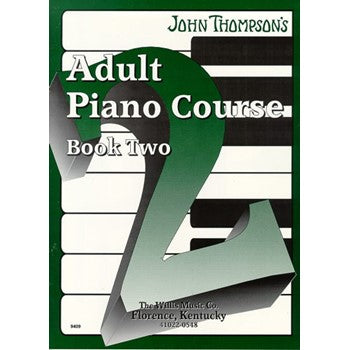 John Thompson's Adult Piano Course Book Two